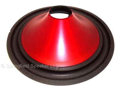 15 inch poly subwoofer cone with foam surround for 2 7. Black Bedroom Furniture Sets. Home Design Ideas